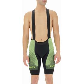 UYN Racefast Biking Bib Shorts Men black/yellow